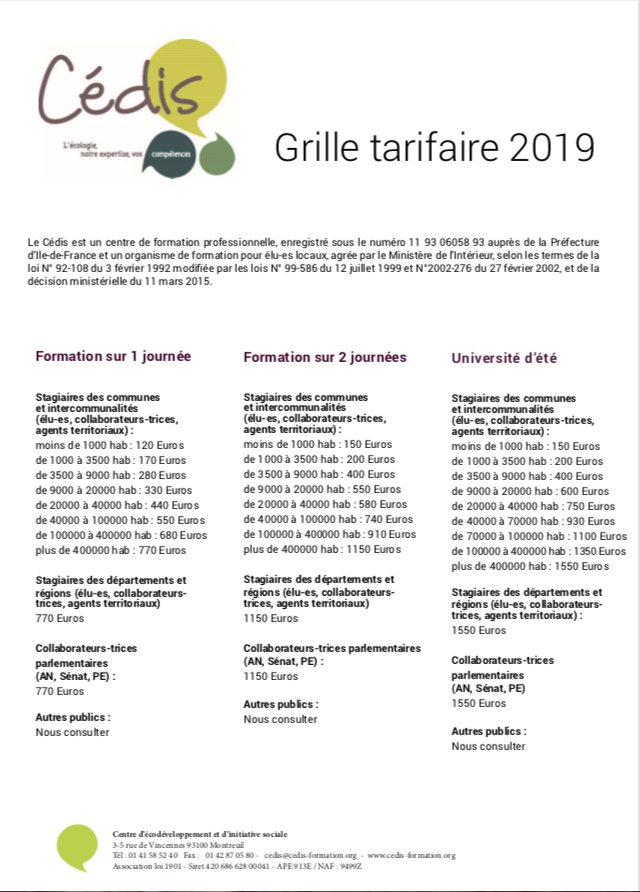 GrilleTarifaire2019